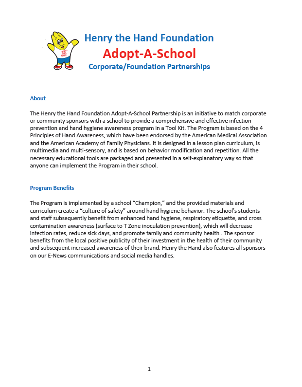 Adopt A School Image